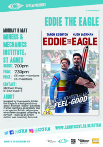 Eddie the Eagle St Agnes