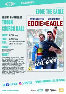 Eddie the Eagle Troon