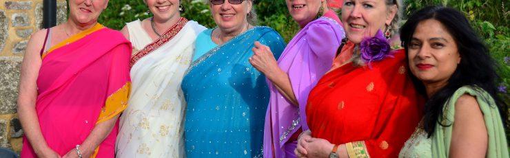 Gwinear film club sari ladies