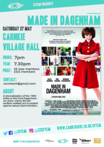 Made in Dagenham Carnkie