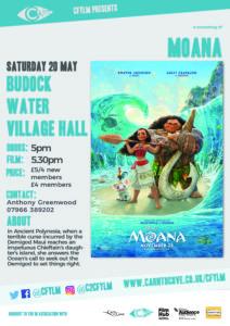 Moana Budock Water