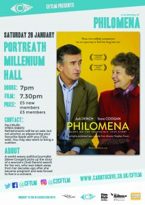 C Fylm Cornwall film club Portreath Millennium Hall