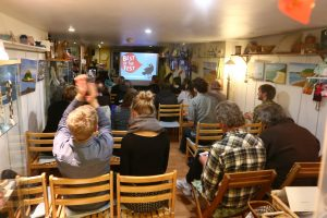 C Fylm Cornwall film club audience